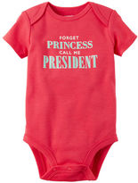 Carter's Call Me President Collectible Bodysuit