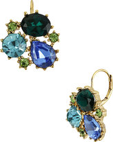 Betsey Johnson Gem Cluster Drop Earring