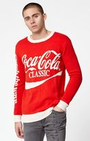Junk Food Clothing Coca-Cola Crew Neck Sweater
