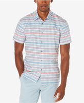 Perry Ellis Men's Big & Tall Multi-Color Striped Shirt