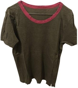 Zadig & Voltaire Khaki Linen Top for Women