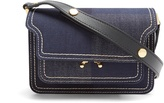 Marni Trunk mini denim cross-body bag