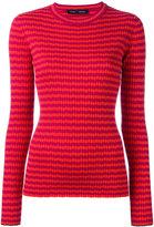 Proenza Schouler ribbed striped jumper - women - Silk/Cashmere - L