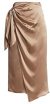 Cinq à Sept Women's Mya Wrap Slip Skirt