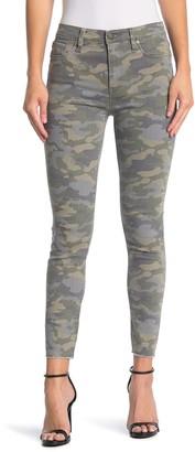 Hudson Barbara Skinny High Waist Camo Jeans