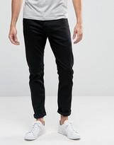Armani Jeans J06 Slim Fit Jeans In Stretch Black