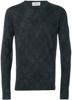 Pringle tartan printed sweater