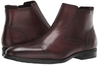 Kenneth Cole Reaction Edge Zip Boot (Brown) Men's Shoes