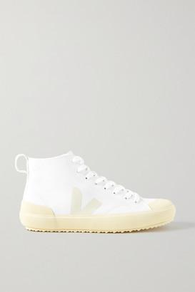 Veja Nova Organic Cotton-canvas Sneakers - White