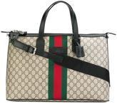 Gucci GG Supreme logo print tote - men - Leather - One Size