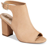 Bar III Marli Block-Heel Shooties, Created for Macy's