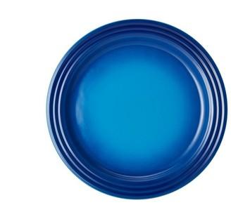 Le Creuset Dinner Plates Set of 4 - Blueberry