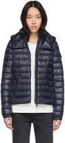 Moncler Navy Down Bleu Jacket