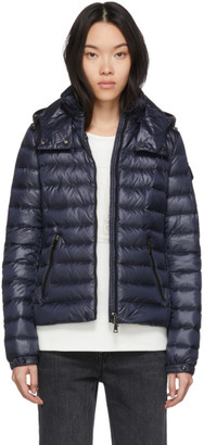 Moncler Navy Down Bleu Jacket