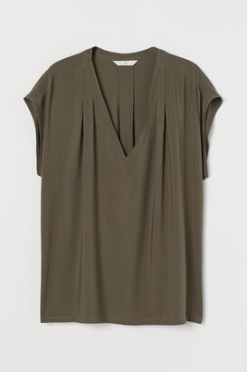 H&M V-neck Blouse