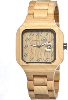 Earth Wood Testa Bracelet Watch.
