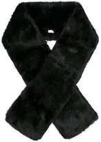 Carven faux fur scarf - women - Acrylic/Modacrylic - One Size