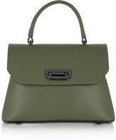 Gisèle 39 Lutece Small Leather Top Handle Satchel Bag
