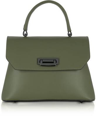 Lutece Small Leather Top Handle Satchel Bag