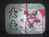 Martha Stewart Gingerbread Men Pan Christmas Holiday