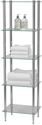 Creative Bath 5 Shelf Tower Chrome