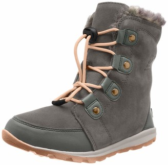 Sorel Girls' Childrens Whitney Suede Snow Boots