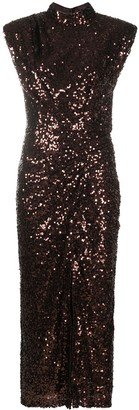 In The Mood For Love Rhea sleeveless sequin dress