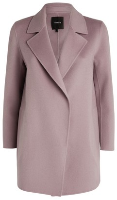 Theory Clairene Open-Front Coat