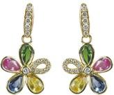 Effy Jewelry Watercolors Sapphire Earrings, 2.50 TCW