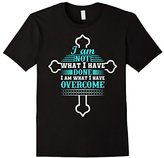philosophy Celebrate Recovery T-Shirt Christian Cross Tee with Quotes.