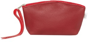 You By Tokarska Leather Cosmetics Bag Red
