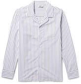 Sleepy Jones Henry Striped Cotton Pyjama Shirt