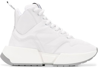 MM6 MAISON MARGIELA Chunky High-Top Sneakers