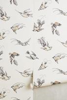 Anthropologie Coastal Fauna Wallpaper