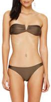 Bec & Bridge Shimmer Bay Bandeau Bikini