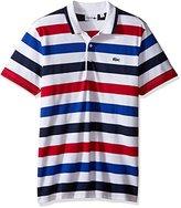Lacoste Men's Tennis Sport Short Sleeve Stripe Superlight T-Shirt