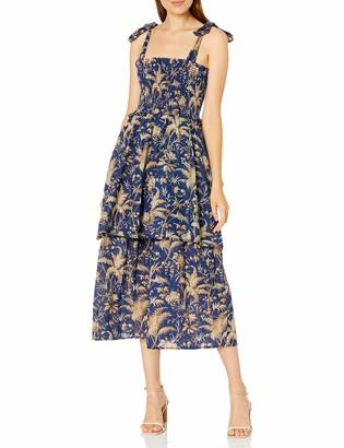 Rebecca Taylor Women's Sleeveless Talita Smock Dress