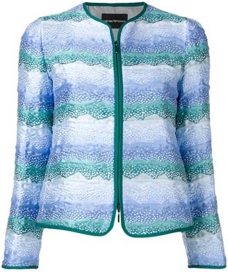 Emporio Armani Zipped-Up Jacket