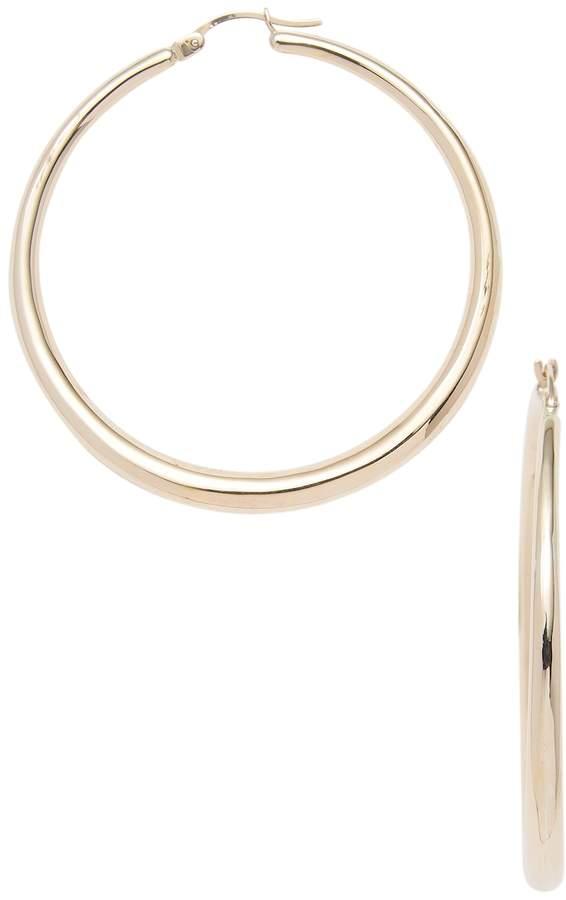 Candela Women's 14k Gold Hoop Earrings