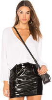 Michael Lauren Ash Top in White. - size L (also in M,S,XS)