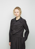 Comme des Garcons Cropped Wool Cupra Jacket