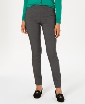 Charter Club Cambridge Tummy-Control Skinny Pants, Created for Macy's