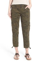 Sanctuary Women's 'Terrain' Camo Print Crop Cargo Pants