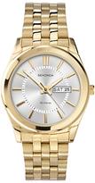 Sekonda 3450.27 Gold Plated Day Date Bracelet Strap Watch, Gold/silver