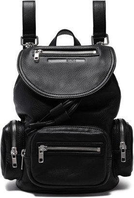 McQ Mini Textured Leather Backpack