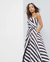 Ted Baker Strapless striped dress