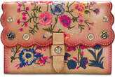 Patricia Nash Prairie Rose Embroidered Colli Wallet