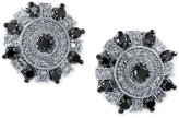 Effy White and Black Diamond Stud Earrings (3/4 ct. t.w.) in 14k White Gold