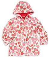 Hatley Little Girl's, & Girl's Strawberry Raincoat