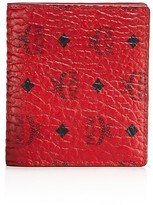 MCM Color Visetos Mini Bifold Wallet